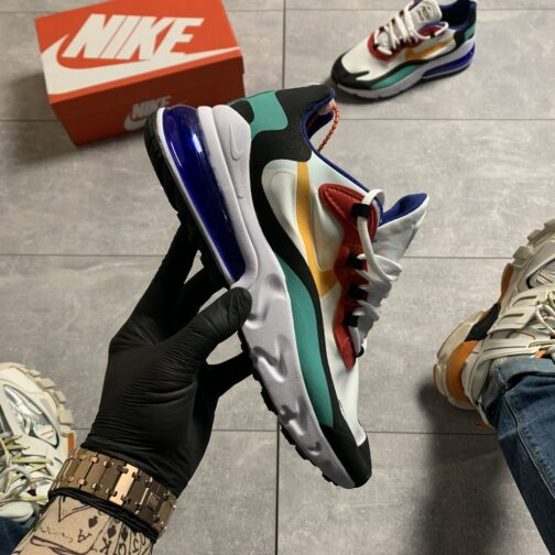 Мужские кроссовки Nike Air Max 270 React Multicolor • Space Shop UA