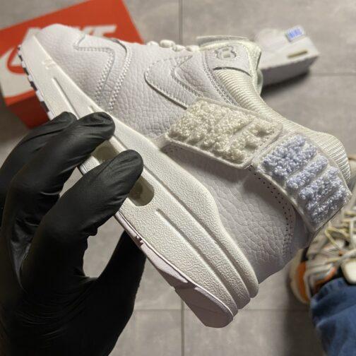 Nike Air Max 1 WMNS Triple White (Белый) • Space Shop UA
