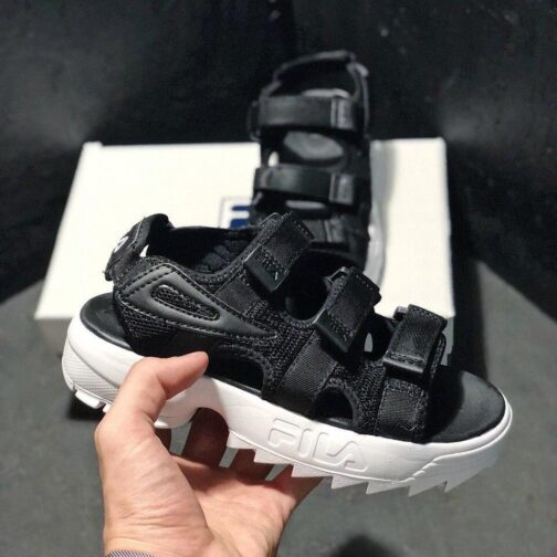 Сандалии унисекс Fila Disruptor 2 SD Black White • Space Shop UA