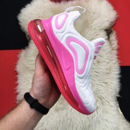 Nike Air Max 720 White Pink (Белый Розовый)