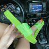 Женские шлепанцы Fila Slip Drifter Light Green • Space Shop UA