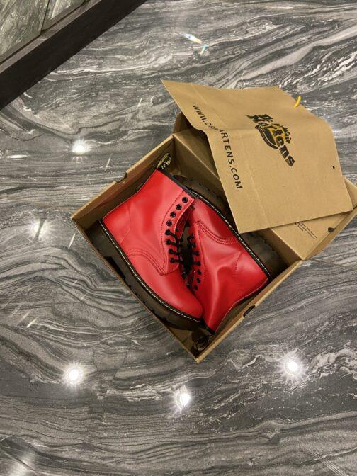 Dr Martens 1460 Red (Термо) (Красный) • Space Shop UA